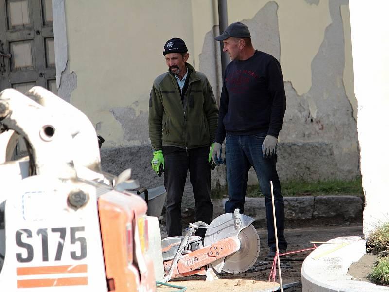 Rekonstrukce ulice Na Karlově v Benešově.