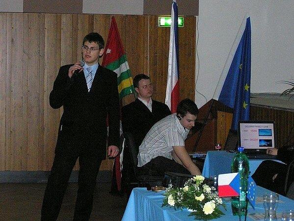 Matrin Vanický bude reprezentovat Česko
