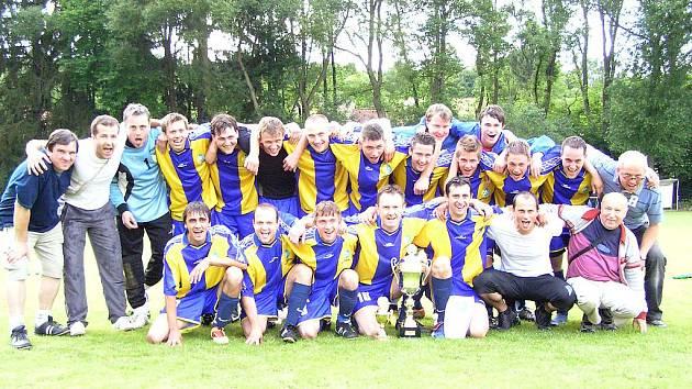 Vítěz finále okresního fotbalového poháru mužů Jawa Divišov.