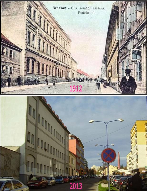 Benešov - Pražská ulice