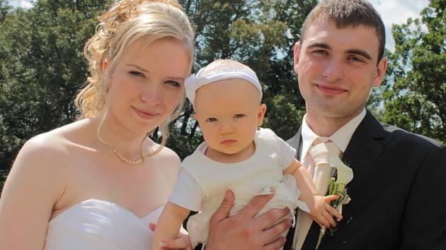 Svatba Daniela a Lucie
