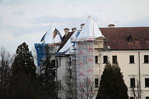 Státní zámek Konopiště.