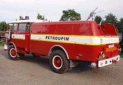 Repase hasičské cisterny ŠKODA 706 RTHP CAS 25 SDH Petroupim.