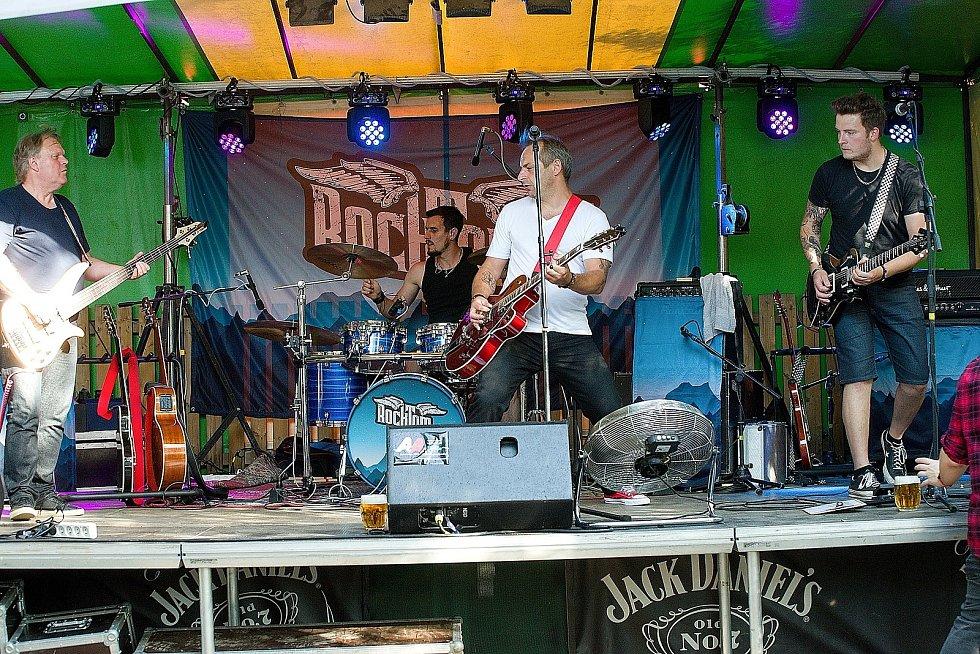 Z hudebního festivalu Rockfest 2020.