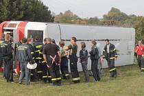 Deváté noční hasičské cvičení v Přestavlkách u Čerčan.