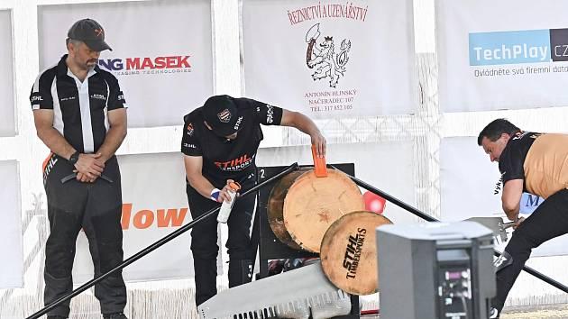 Dřevorubci se na olympiádě ve Vranovicích potkají až na Václava. Ilustrační foto.