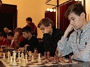 Žákovský přebor v šachu v Benešově.
