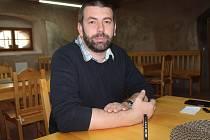 Ředitel SOkA Benešov Michal Sejk.