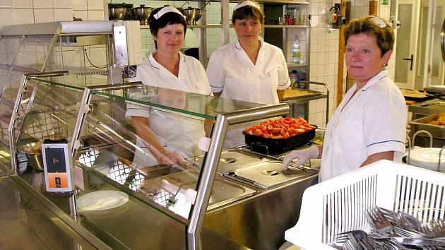 Školní jídelna v Benešově.