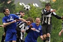 Čechie Velká Dobrá - SK Hřebeč 1:0 , utkání I.B stč. kraj, tř. 2012/13, hráno 1. 6. 2013