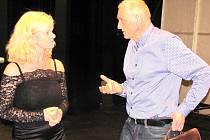 ARCHITEKT DAVID VÁVRA v rozhovoru s ředitelkou Městského divadla Kladno Blankou Bendlovou.