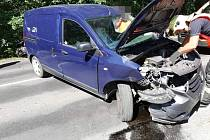 Dopravní nehoda u Kamenných Žehrovic