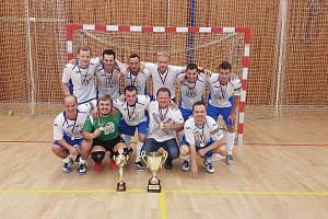 FK Kladno, vítěz krajské části Českého poháru.