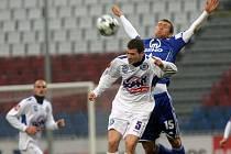 David Bartek proti Olomouci.
