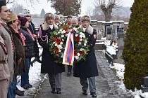 Pietní akt u hrobu prezidenta T.G. Masaryka a zahájení výstavy T. G. Masaryk a Svatá země.