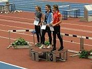 Mladí atleti AC Tepo na mítinku v Chemnitzu. Šárka Somrová byla druhá na 800 m.