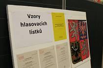 Volilo se také na půdě rozdělovské 6. ZŠ sídlící v Doberské ulici v Kladně.