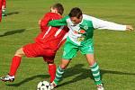 David Fuchs a Martin Mikšovský // Sokol Hostouň B - SK Třebichovice 10:0 , utkání IV.tř. sk.A (Kladno)  2010/11, hráno 17.10.2010