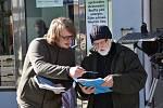 Hmyz režiséra Švankmajera natáčejí na Slánsku.