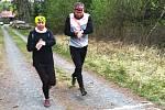 Trasu Kačického lesního běhu absolvovalo 128 zájemců.
