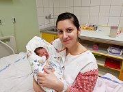 AMÁLIE BORNIKOVÁ, KLADNO Narodila se 16. ledna 2018. Po porodu vážila 2,84 kg a měřila 48 cm. Rodiče jsou Markéta a Ondřej Bornikovi. (porodnice Slaný)