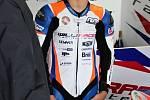 Do Brna si Hanika odskočil ze seriálu vytrvalostních motocyklových závodů.