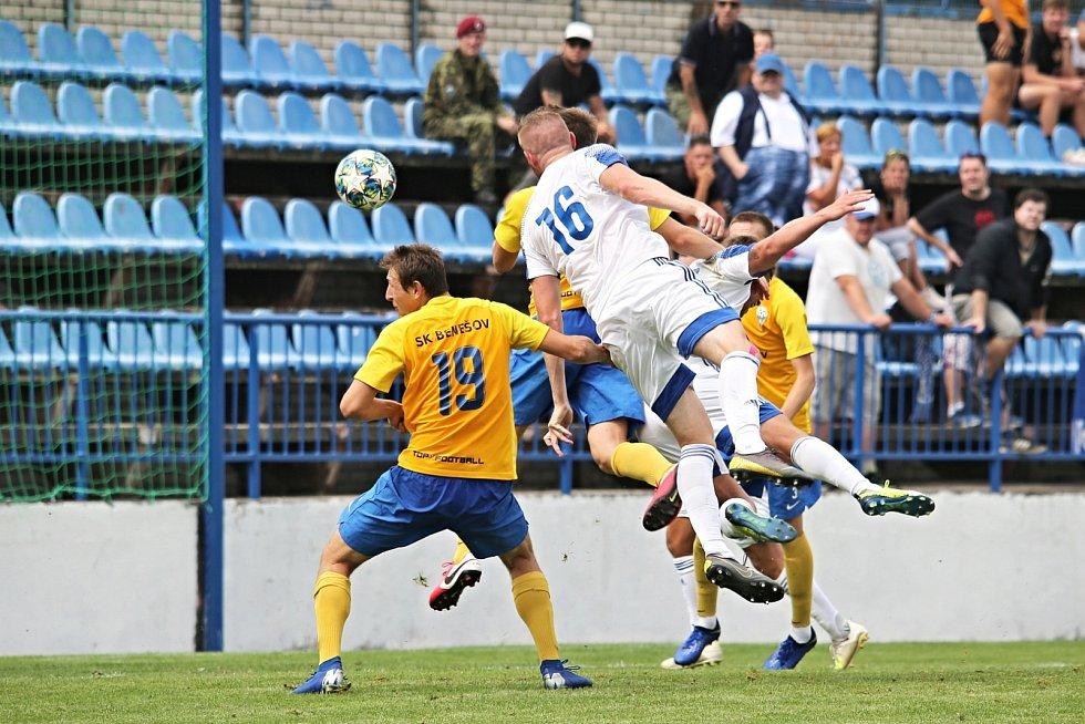 SK Kladno – SK Benešov 5:6 (1:6), MOL Cup 15. 8. 2020