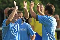 SK Hřebeč - Novo Kladno 9:3 (3:0), Lidický pohár 2010,  hráno 31.7.2010