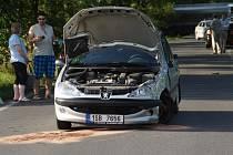 Dopravní nehoda u Velké Dobré