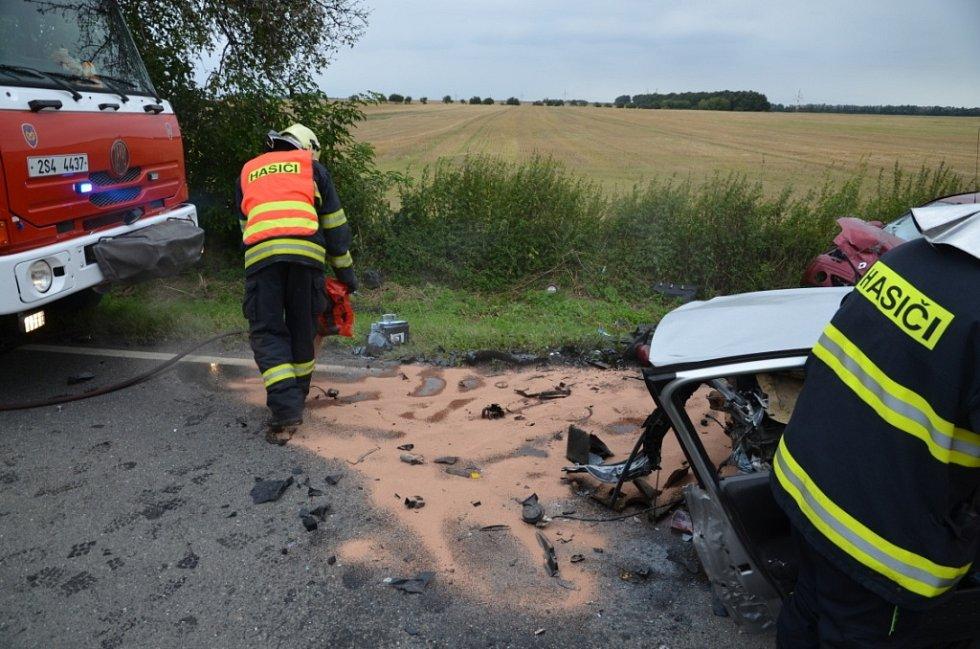 Tragická nehoda u Unhoště