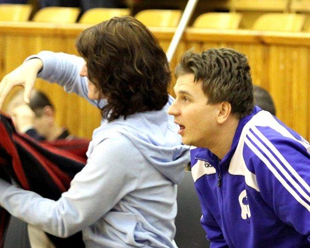 Ve čtvrtek sledoval Branislav Skladaný své spoluhráče pouze z lavičky. V pondělí je odhodlán nastoupit za všech okolností .