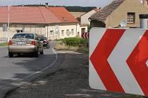 Město zůstane dále průjezdné. Doprava bude řízena kyvadlově pomocí světelné signalizace.