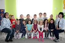 Děti z MŠ Běleč pod vedením učitelek Petry Škodákové a Lenky Zíkové.