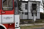 Požá rodinného domu v Velkém Přítočně