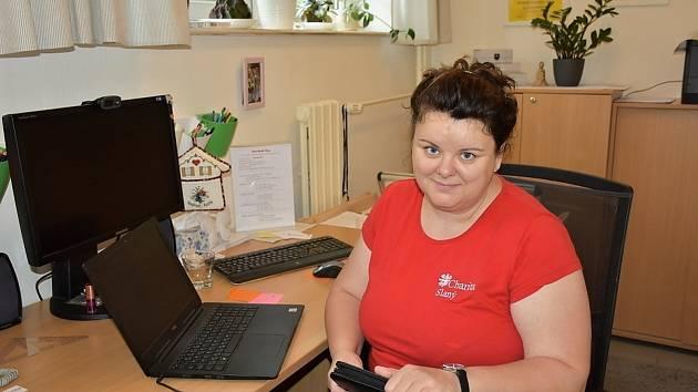 Ředitelka Farní charity Nina Kubištová.