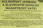 Masarykova vatra v Lánech 2015.