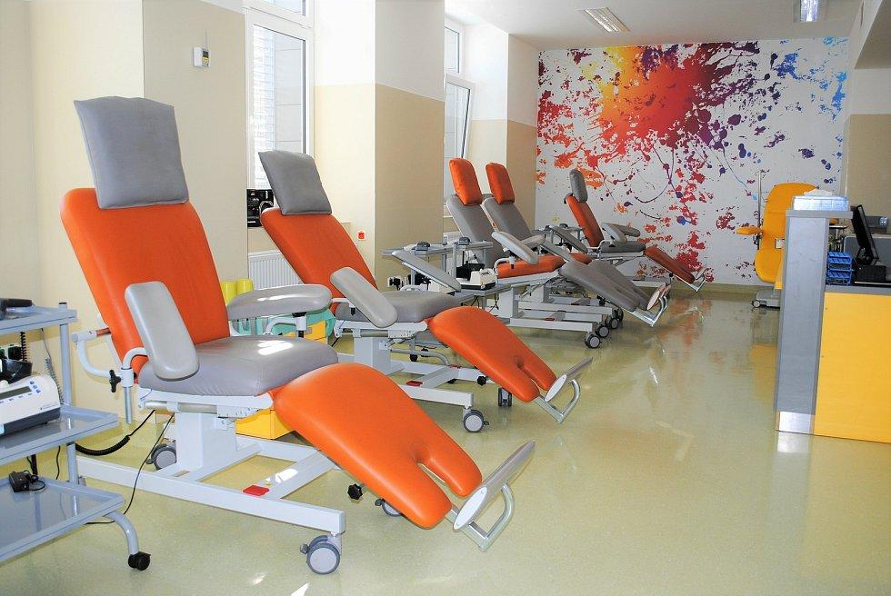 Hematologicko-transfuzní oddělení Oblastní nemocnice Kladno.