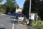 Senior na elektrokole se srazil ve Kvíci s autem.