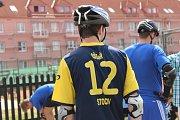 Na stochovském in-line okruhu změřilo síly pět chlapeckých a pět dívčích týmů.