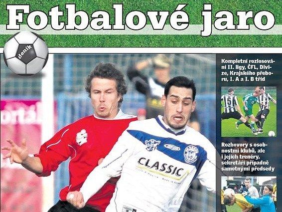 Příloha Fotbalové jaro 2013 vychází už ve čtvrtek.