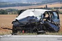 Vážná nehoda u Tuřan.