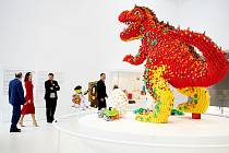 Snímky z otevření Lego House v dánském Billundu.