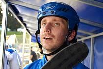 Hokejbalista Bohumil Gotthard.