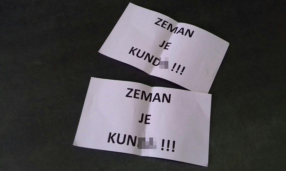 I toto našli na Kladensku ve volební urně