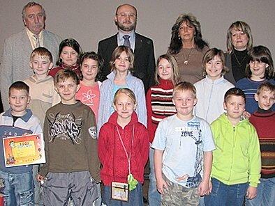 Mezi nejúspěšnějí soutěžící patří  letos žáci ze Základní školy Pchery.