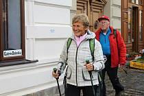 Start pochodu v sobotu ve slánské Galerii Dobeška.