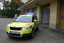 Nový automobil záchranářů kladenského systému randez-vous.