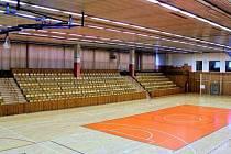 Velký sál v Kladenské sportovní hale. Ilustrační foto.