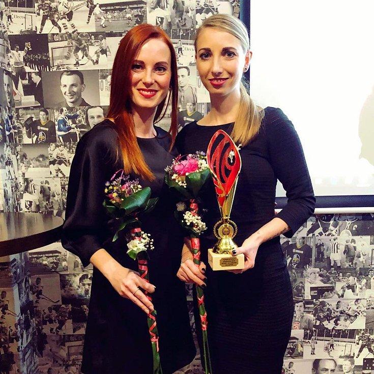 Vyhlášení nejlepších sportovců Kladenska za rok 2018. Šéfky Sport Academy Klára a Jindřiška Proškovy