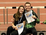 Atleti Kladna si vedli na závodech v Německu výborně. Trojskokani Denisa Chocholová a Jiří Zahradník získali v shodně stříbrné medaile.